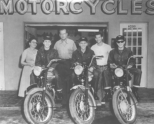 buddy holly motorcycles 1959