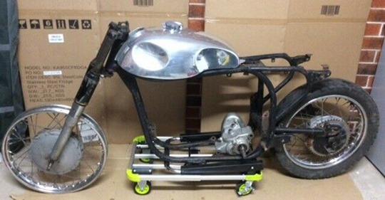 cafe racer chassis