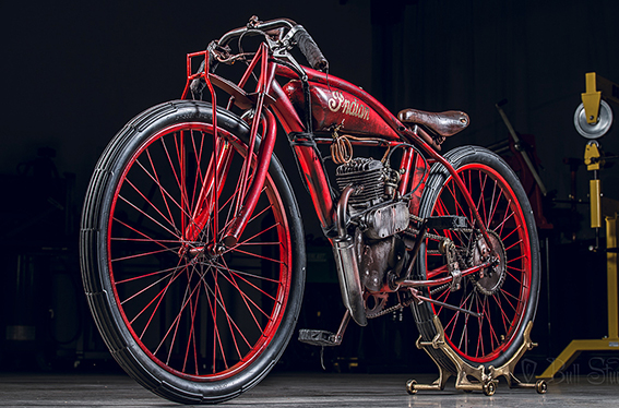 Indian board track racer replica
