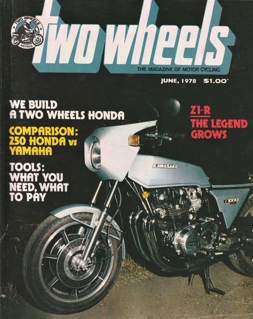 Two Wheels Z1-R cover