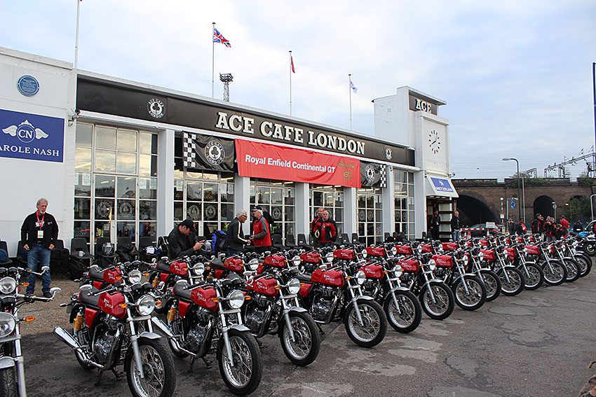 Royal Enfield Continental GT 535 Ace Cafe