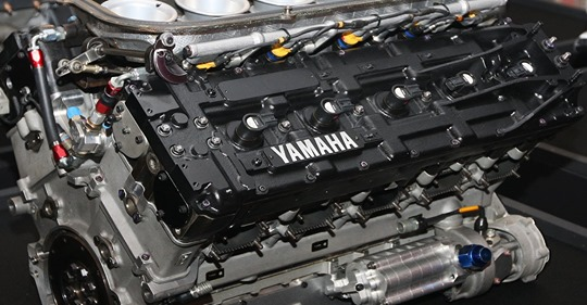 Yamaha V10 car engine