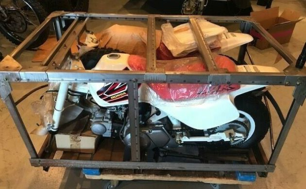 Honda Z50s in crate