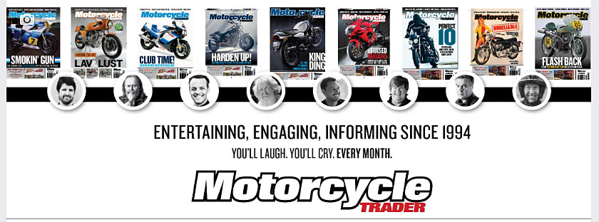 Motorcycle Trader mag staff