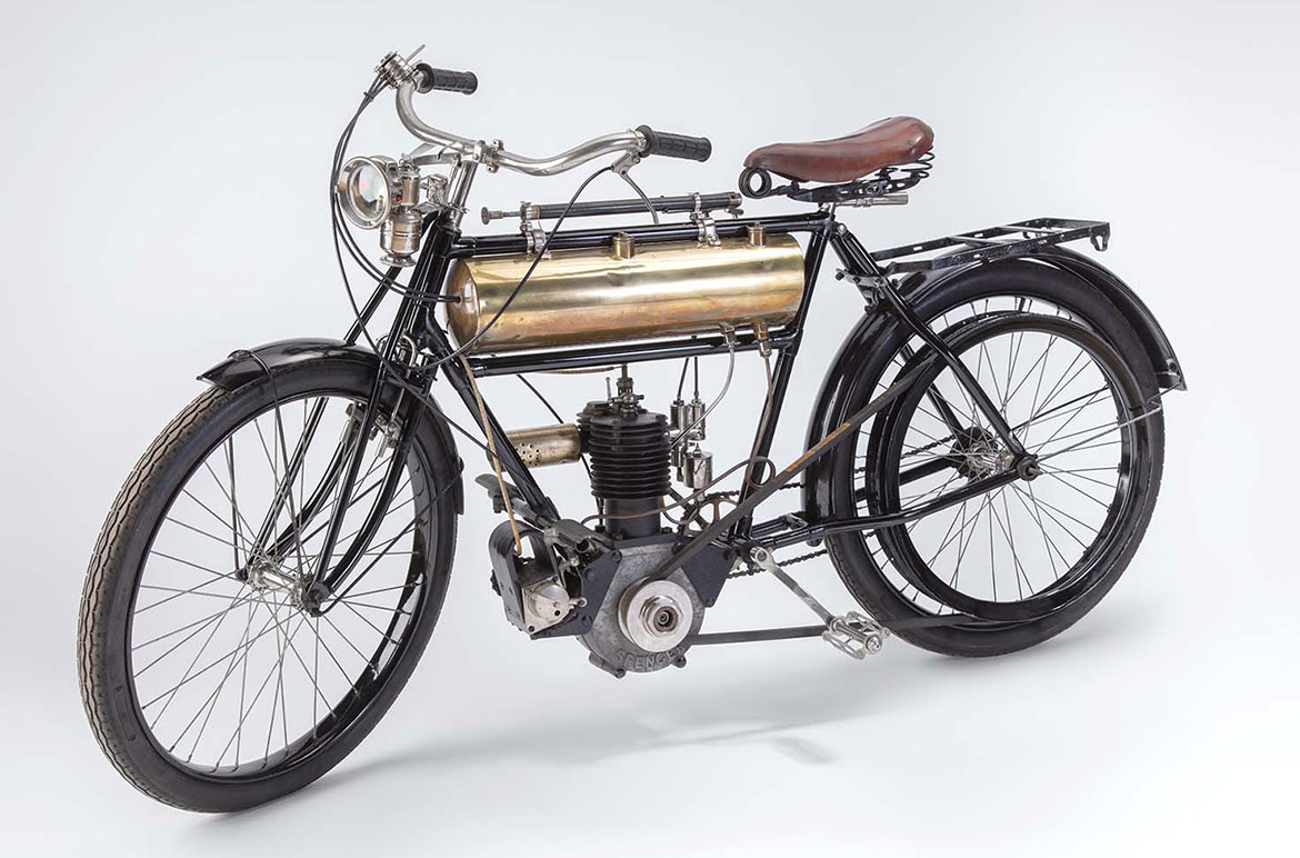 Spencer motorcycle
